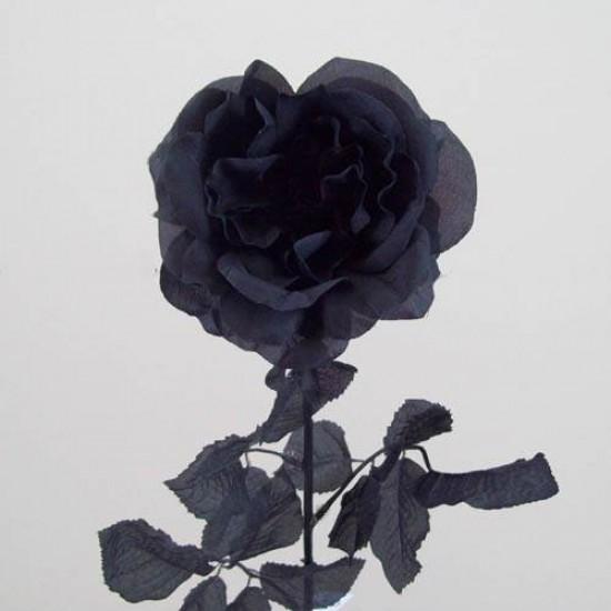 Black Silk Artificial Roses - R013 P2