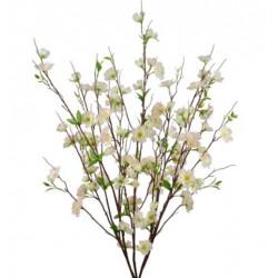 Artificial Apple Blossom Bush Pale Pink - B042 B3