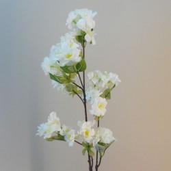Artificial Cherry Blossom Branch Cream Flowers 77cm - B062 B2