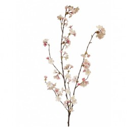 Artificial Cherry Blossom Branch Pink No Leaves 127cm - B044 A1