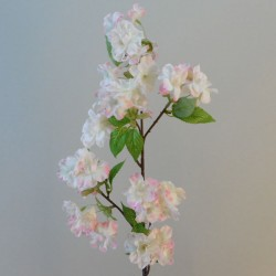 Artificial Cherry Blossom Branch Pale Pink Flowers - B054 B1