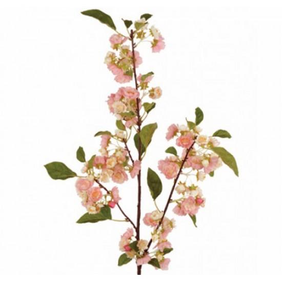 Artificial Cherry Blossom Branch Pink 105cm - B039 A4