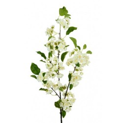 Artificial Cherry Blossom Branch White 105cm - B040 A1