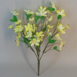 Artificial Plum Blossom Lemon Yellow - P168 LL4