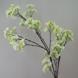 Empress Artificial Cherry Blossom Branch Green - B029 LL1