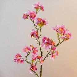 Wild Cherry Blossom Branch Mid Pink - B056