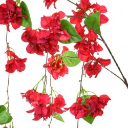 Artificial Bougainvillea Red Trailing 145cm - B026 AA1