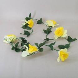 Budget Artificial Daffodil Garland - D083 BX18
