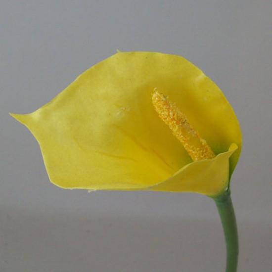 Artificial Calla Lilies Yellow - L127 I2