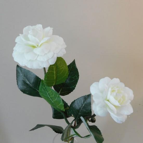 Artificial Camellias Cream - C118 D3