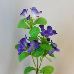 Artificial Bellflowers Purple 47cm - B027