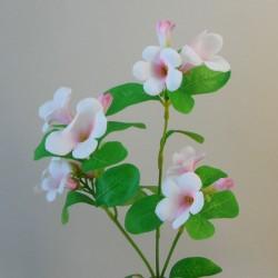 Artificial Bellflowers Pink 47cm - B028 B2