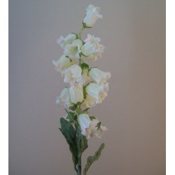 Artificial Campanula Cream Flowers - C185 B1