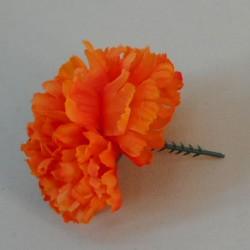 Short Stem Carnation Orange - C007 B3