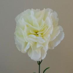 Budget Silk Carnations Cream - C198