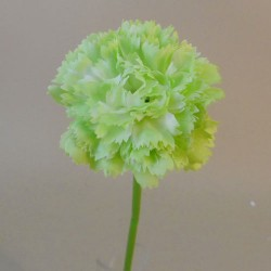 Mini Artificial Carnations Lime Green - C105 C4