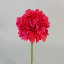 Mini Artificial Carnations Raspberry - C110 C3