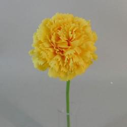 Mini Artificial Carnations Yellow - C106 C4