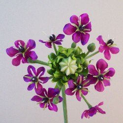 Artificial Chincherinchee Flowers Purple - C230 A1