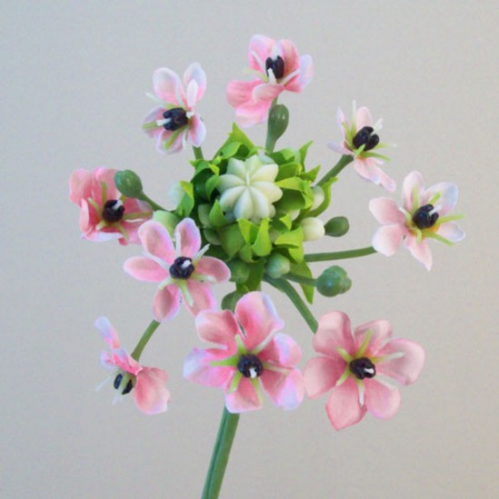 Artificial Chincherinchee Flowers Pink - C229 A1