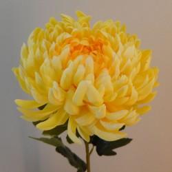 Artificial Bloom Chrysanthemum Yellow - C035 D1