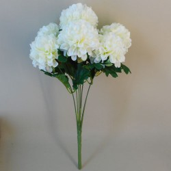 Artificial Ball Chrysanthemum Bunch Cream - C040 A1
