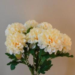 Artificial Ball Chrysanthemum Bunch Peach - C029 C1