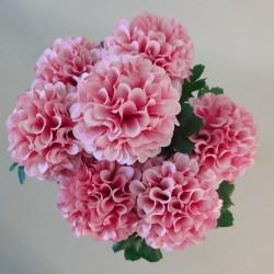 Artificial Ball Chrysanthemum Bunch Pink - C044 A1