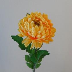 Artificial Chrysanthemums Yellow 57cm - C178 C3