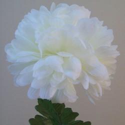 Artificial Pompom Chrysanthemum Cream - C192 C3