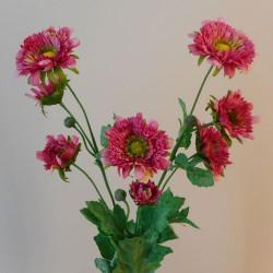 Artificial Spray Chrysanthemums Dusky Pink - G002 E3