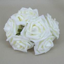 Colourfast Beauty Foam Roses Bundle Cream 6 Pack - R172 BX8