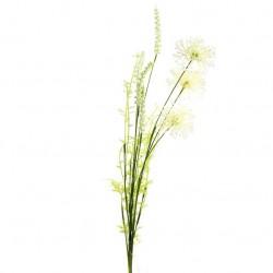 English Meadow Artificial Flowers Ivory Cornflowers - C124 FF3