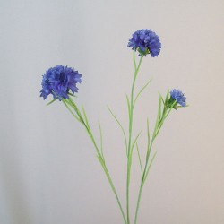 Artificial Meadow Cornflowers Blue - C147 A4