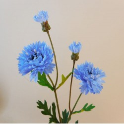 Artificial Cornflowers Light Blue - C025 B1
