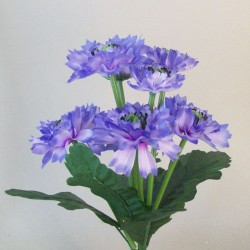 Fleur Artificial Cornflowers Bunch Lavender Blue - C252 GG2