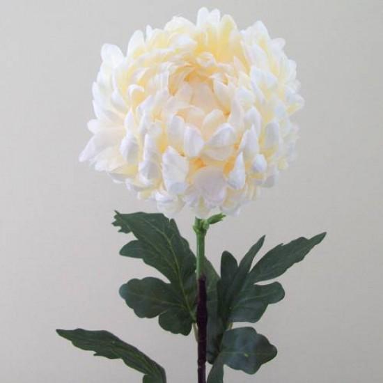 Cream Silk Chrysanthemum Large - C129 D1