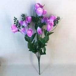 Large Artificial Crocus Plants Lilac - C115 C3