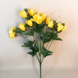 Large Artificial Crocus Plants Yellow - C112 C3