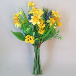 Artificial Daffodils Spring Posy - D165 C4