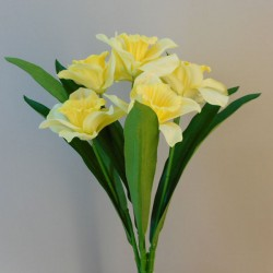 Artificial Daffodils Bunch x 7 - D114 E1
