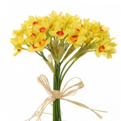 Artificial Daffodil Bundle Tete a Tete - D043 C3