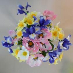 Artificial Spring Flower Bouquet Mixed - S094 LL4
