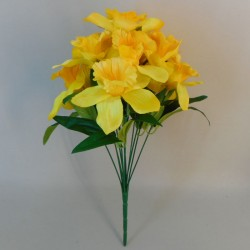Fleur Artificial Daffodils Bunch Yellow - D050 D4