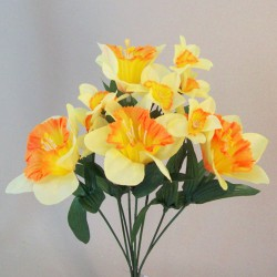 Fleur Artificial Daffodils and Narcissus Bunch - D176 F1