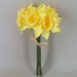 Artificial Daffodils Bundle x 9 - D018