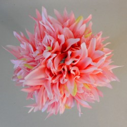 Artificial Dahlias Bundle Coral - D046 B1
