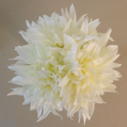 Artificial Dahlias Bundle Cream - D044 B1
