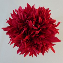 Artificial Dahlias Bundle Red - D047 B1