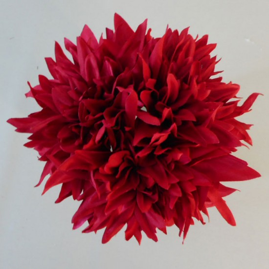 Artificial Dahlias Bundle Red - D047 C1